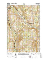 Goodwin Maine Current topographic map, 1:24000 scale, 7.5 X 7.5 Minute, Year 2014 from Maine Maps Store
