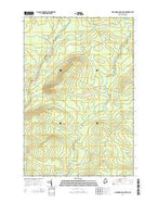 Hardwood Mountain SE Maine Current topographic map, 1:24000 scale, 7.5 X 7.5 Minute, Year 2014 from Maine Map Store