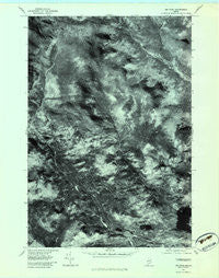 Jim Pond Maine Historical topographic map, 1:24000 scale, 7.5 X 7.5 Minute, Year 1977