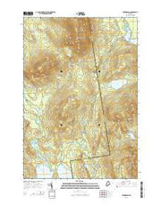 Kennebago Maine Current topographic map, 1:24000 scale, 7.5 X 7.5 Minute, Year 2014 from Maine Maps Store