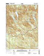 Kezar Falls Maine Current topographic map, 1:24000 scale, 7.5 X 7.5 Minute, Year 2014 from Maine Map Store