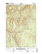 Lagrange Maine Current topographic map, 1:24000 scale, 7.5 X 7.5 Minute, Year 2014 from Maine Map Store