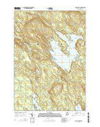 Lake Cathance Maine Current topographic map, 1:24000 scale, 7.5 X 7.5 Minute, Year 2014 from Maine Map Store