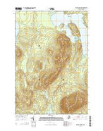 Lobster Mountain Maine Current topographic map, 1:24000 scale, 7.5 X 7.5 Minute, Year 2014 from Maine Map Store