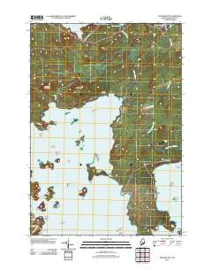 Machias Bay Maine Historical topographic map, 1:24000 scale, 7.5 X 7.5 Minute, Year 2011