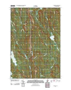 Monarda Maine Historical topographic map, 1:24000 scale, 7.5 X 7.5 Minute, Year 2011