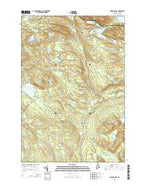 Monson East Maine Current topographic map, 1:24000 scale, 7.5 X 7.5 Minute, Year 2014 from Maine Map Store