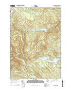 Monson West Maine Current topographic map, 1:24000 scale, 7.5 X 7.5 Minute, Year 2014 from Maine Map Store