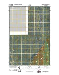 Morrison Brook Maine Historical topographic map, 1:24000 scale, 7.5 X 7.5 Minute, Year 2011