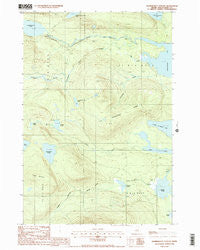 Nahmakanta Stream Maine Historical topographic map, 1:24000 scale, 7.5 X 7.5 Minute, Year 1988