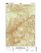 New Vineyard Maine Current topographic map, 1:24000 scale, 7.5 X 7.5 Minute, Year 2014 from Maine Map Store