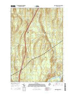 Nine Meadow Ridge Maine Current topographic map, 1:24000 scale, 7.5 X 7.5 Minute, Year 2014 from Maine Map Store