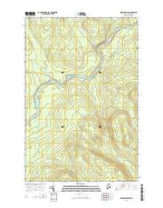 Ninemile Bridge Maine Current topographic map, 1:24000 scale, 7.5 X 7.5 Minute, Year 2014 from Maine Maps Store