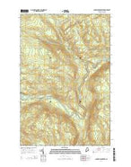 Ninemile Deadwater Maine Current topographic map, 1:24000 scale, 7.5 X 7.5 Minute, Year 2014 from Maine Map Store