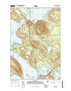Norcross Maine Current topographic map, 1:24000 scale, 7.5 X 7.5 Minute, Year 2014 from Maine Map Store