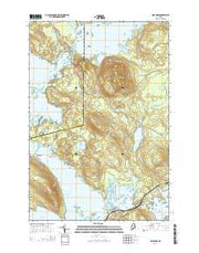 Norcross Maine Current topographic map, 1:24000 scale, 7.5 X 7.5 Minute, Year 2014 from Maine Maps Store