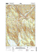 Norridgewock Maine Current topographic map, 1:24000 scale, 7.5 X 7.5 Minute, Year 2014 from Maine Map Store