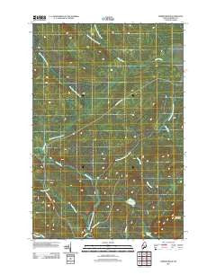 Norris Brook Maine Historical topographic map, 1:24000 scale, 7.5 X 7.5 Minute, Year 2011