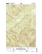 Norris Brook Maine Current topographic map, 1:24000 scale, 7.5 X 7.5 Minute, Year 2014 from Maine Map Store