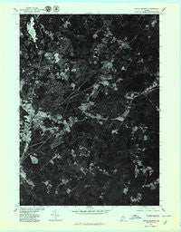North Berwick Maine Historical topographic map, 1:24000 scale, 7.5 X 7.5 Minute, Year 1977