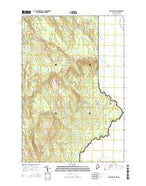 North Amity Maine Current topographic map, 1:24000 scale, 7.5 X 7.5 Minute, Year 2014 from Maine Map Store