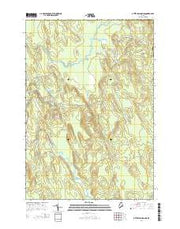 Otter Chain Ponds Maine Current topographic map, 1:24000 scale, 7.5 X 7.5 Minute, Year 2014 from Maine Maps Store