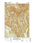 Oxford Maine Current topographic map, 1:24000 scale, 7.5 X 7.5 Minute, Year 2014 from Maine Map Store