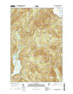 Parmachenee Lake Maine Current topographic map, 1:24000 scale, 7.5 X 7.5 Minute, Year 2014 from Maine Map Store