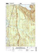 Passadumkeag Maine Current topographic map, 1:24000 scale, 7.5 X 7.5 Minute, Year 2014 from Maine Map Store