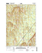 Patten Maine Current topographic map, 1:24000 scale, 7.5 X 7.5 Minute, Year 2014 from Maine Map Store