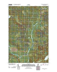 Penobscot Farm Maine Historical topographic map, 1:24000 scale, 7.5 X 7.5 Minute, Year 2011