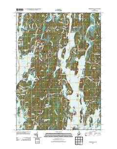 Phippsburg Maine Historical topographic map, 1:24000 scale, 7.5 X 7.5 Minute, Year 2011