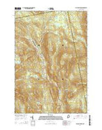 Poplar Mountain Maine Current topographic map, 1:24000 scale, 7.5 X 7.5 Minute, Year 2014 from Maine Map Store