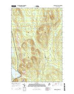 Portage Lake East Maine Current topographic map, 1:24000 scale, 7.5 X 7.5 Minute, Year 2014 from Maine Map Store