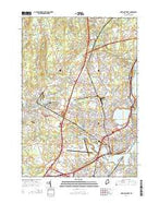Portland West Maine Current topographic map, 1:24000 scale, 7.5 X 7.5 Minute, Year 2014 from Maine Map Store