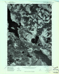 Richardson Pond Maine Historical topographic map, 1:24000 scale, 7.5 X 7.5 Minute, Year 1977