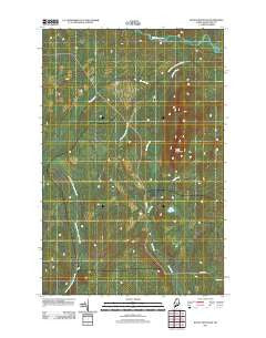 Rocky Mountain Maine Historical topographic map, 1:24000 scale, 7.5 X 7.5 Minute, Year 2011