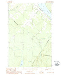 Saint-Eleuthere Quebec Historical topographic map, 1:24000 scale, 7.5 X 7.5 Minute, Year 1987