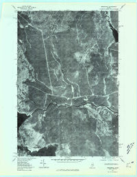 Seboomook Maine Historical topographic map, 1:24000 scale, 7.5 X 7.5 Minute, Year 1977