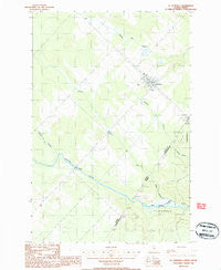 St. Pamphile Quebec Historical topographic map, 1:24000 scale, 7.5 X 7.5 Minute, Year 1986