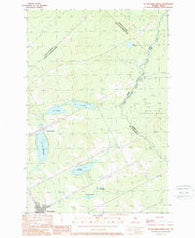 St. Zacharie North Quebec Historical topographic map, 1:24000 scale, 7.5 X 7.5 Minute, Year 1989