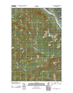 Violette Stream Maine Historical topographic map, 1:24000 scale, 7.5 X 7.5 Minute, Year 2011