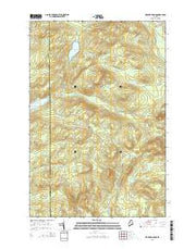 Wadleigh Pond Maine Current topographic map, 1:24000 scale, 7.5 X 7.5 Minute, Year 2014 from Maine Maps Store