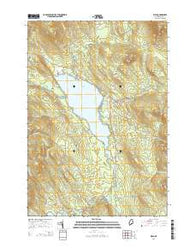Weld Maine Current topographic map, 1:24000 scale, 7.5 X 7.5 Minute, Year 2014