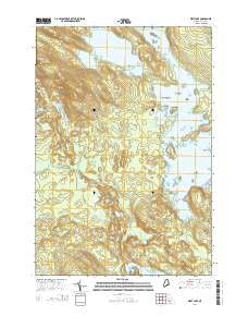 West Lake Maine Current topographic map, 1:24000 scale, 7.5 X 7.5 Minute, Year 2014