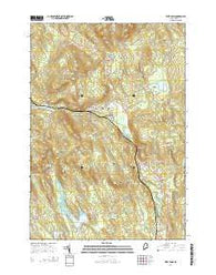 West Paris Maine Current topographic map, 1:24000 scale, 7.5 X 7.5 Minute, Year 2014