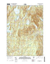 West Rockport Maine Current topographic map, 1:24000 scale, 7.5 X 7.5 Minute, Year 2014