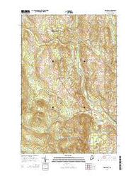 Westfield Maine Current topographic map, 1:24000 scale, 7.5 X 7.5 Minute, Year 2014