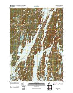 Westport Maine Historical topographic map, 1:24000 scale, 7.5 X 7.5 Minute, Year 2011