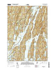 Westport Maine Current topographic map, 1:24000 scale, 7.5 X 7.5 Minute, Year 2014